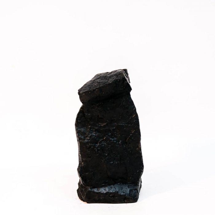 Górnik z wiertłem na przodku