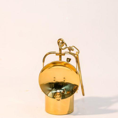 Lampa karbidowa mosiężna