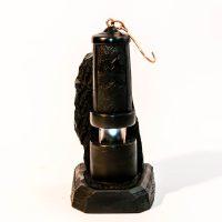 Lampa z węgla