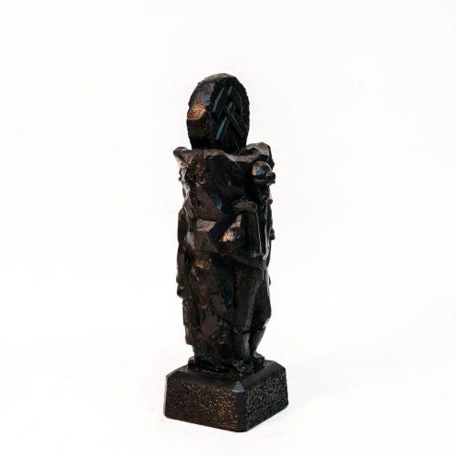 Ratownik - rzeźba dwustronna