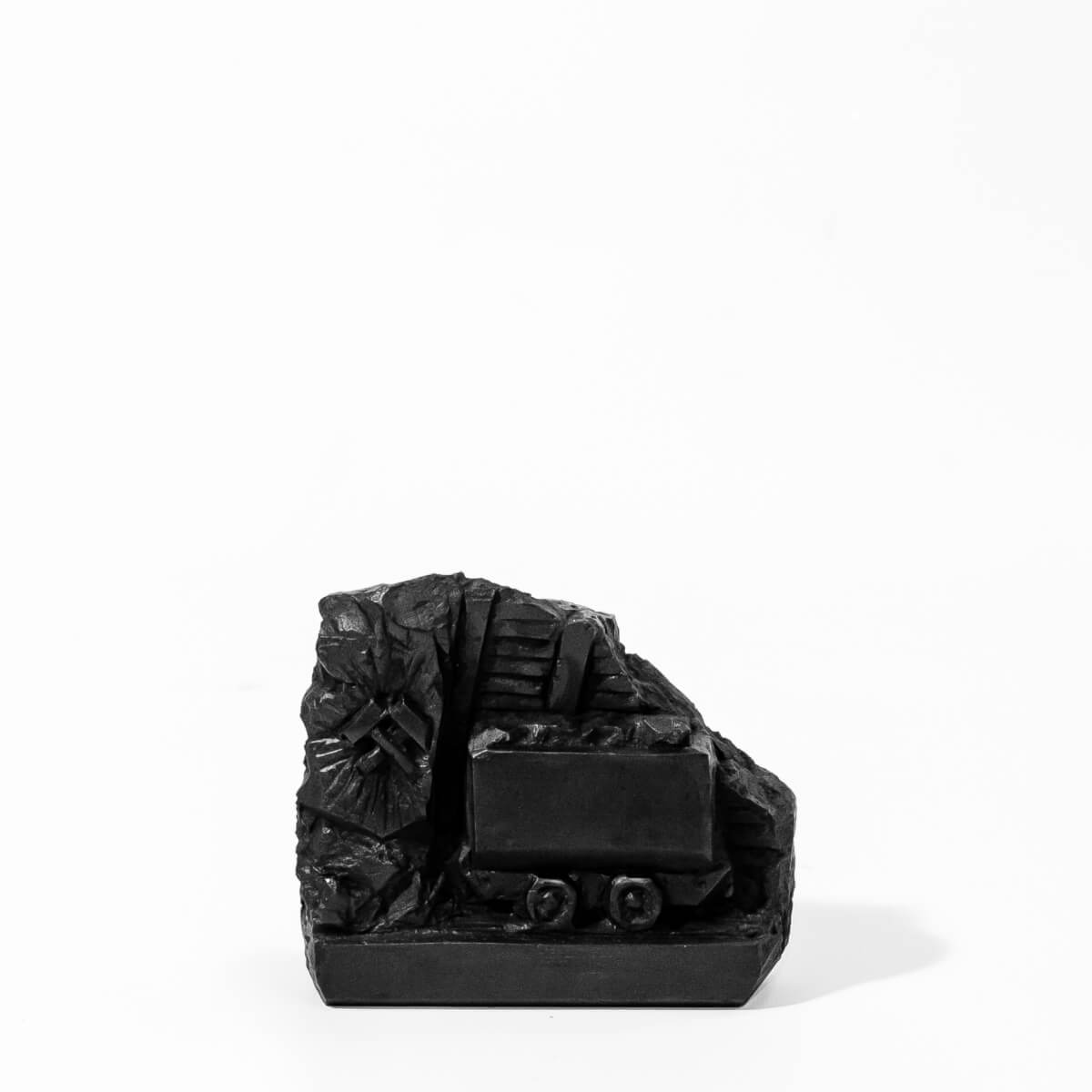 Wagonik z węgla