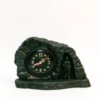 Zegar z węgla